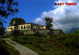 TIMOR LESTE,  RUINES OF FORMER MANATUTO'S ADMINISTRATIVE HOUSE AND LODGE [40604] - East Timor