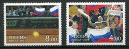 Russie** N° 6702 /6703 - Coupe Avis 2002 - 1992-.... Föderation