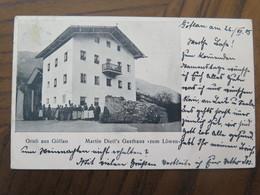 """GÖFLAN - GRUSS AUS GÖFLAN - MARTIN DIETL'S GASTHAUS """"ZUM LÖWEN"""" - GELAUFEN 1905 - Bolzano"""