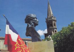 81 PUYLAURENS / VUE UNIQUE / BERCEAU OCCITAN DE LA MARIANNE REPUBLICAINE / BUSTE DU BICENTENAIRE - Puylaurens