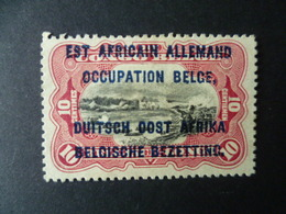 TIMBRE SURCHARGE EST AFRICAIN ALLEMAND  OCCUPATION BELGE   OBLITERE - Ruanda-Urundi