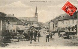 CPA - RAON-sur-PLAINE (88) - Aspect De La Grande Rue En 1908 - Francia