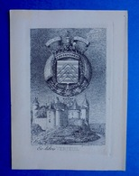 Bel Ex-libris Du Château De Verteuil (Charente) - Ex Libris