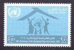 2004 QATAR 10th Anniversary Of The International Year Of The Family 1 Values MNH - Qatar