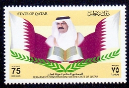 2004 QATAR Permanent Constitution Of The State 1 Values MNH - Qatar