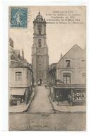 AIRE SUR LA LYS TOUR DU BEFFROI 55 M CONSTRUITE EN 1721 INCENDIE 9 MARS 1914 DETRUIT LE DOME ET L HORLOGE - Aire Sur La Lys