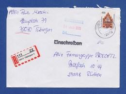 BRD - R-Brief, Einschreiben - TÜBINGEN - BRD
