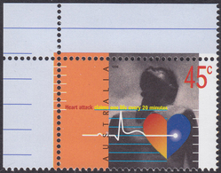 AUSTRALIA 1998, Heart-attack, Medicine MNH, Yv# 1670 - Nuovi