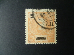 TIMBRE  ANGRA 5 CTS   OBLITERE - Angra