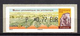 Vignette LISA  // Salon De Printemps // Epernay 2012 - 2010-... Illustrated Franking Labels