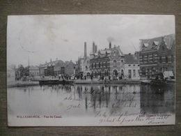 Cpa Willebroek Willebroeck - Vue Du Canal - Edit. Thomas Baggerman - 1904 - Willebroek