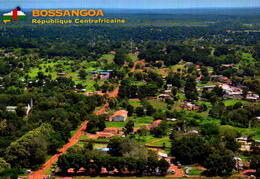REPUBLICA CENTRO AFRICANA, BOSSANGOA, VUE AERIENNE DE BOSSANGOA  [43147] - Centrafricaine (République)