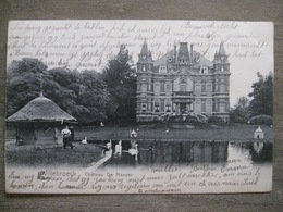 Cpa Willebroek Willebroeck - Château De Naeyer - 1905 - Willebroek