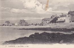 56. LARMOR PLAGE. CPA. LES VILLAS . ANNÉE 1912 - Larmor-Plage