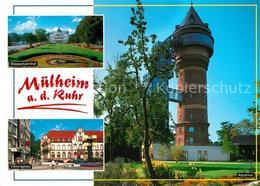 73196938 Muelheim_Ruhr Wasserbahnhof Viktoriaplatz Wasserturm Muelheim Ruhr - Muelheim A. D. Ruhr
