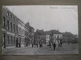 Cpa Willebroek Willebroeck - Louis De Naeyerplaats - Uitg. Jos De Maeyer - Belle Animation - 1906 - Willebroek