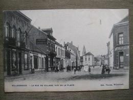 Cpa Willebroek Willebroeck - La Rue Du Village, Vue De La Place - Edit. Thomas - Apotheek Drogerij Pharmacie - 1906 - Willebroek