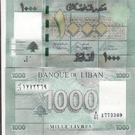 Lebanon - 1000 Livres 2011 Pick 90 AUNC Ukr-OP - Lebanon