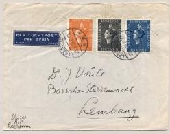 Nederland - 1938 - Jubileumserie Tricolore Op LP-cover Van Leersum Naar Sterrenwacht In Lembang / Nederlands Indië - Periode 1891-1948 (Wilhelmina)