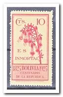 Bolivië 1925, Plakker MH, Flowers - Bolivië