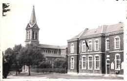 Bierwart - L'Eglise Et L'Ecole Communale (Editeur Mme Crusifix) - Fernelmont