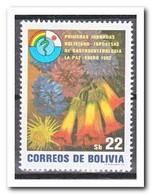 Bolivië 1982, Postfris MNH, Flowers - Bolivië