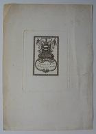 Ex-libris De La Bibliothèque Du Marquis De Saint Mauris - Ex-libris