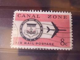 CANAL ZONE POSTE AERIENNE YVERT N°41 - Panama