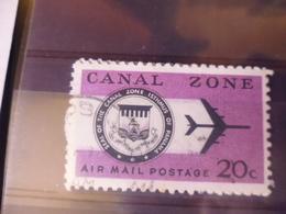 CANAL ZONE POSTE AERIENNE YVERT N°45 - Panama