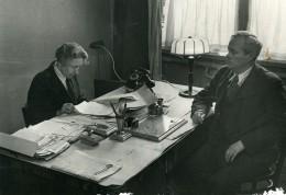 URSS Moscou Fabrication Du Journal La Pravda Bureau Ancienne Photo 1947 - Other