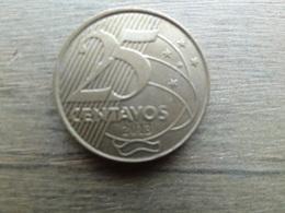 Bresil  25  Centavos  2013  Km 650 - Brasil
