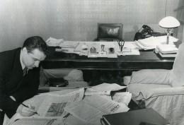 URSS Moscou Journal La Pravda Redacteur En Chef L A Grebnev Ancienne Photo 1947 - Other