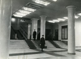 URSS Moscou Hall D'entrée Du Journal La Pravda Ancienne Photo 1947 - Photographs