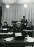 URSS Moscou Fabrication Du Journal La Pravda Dactylos Ancienne Photo 1947 - Other