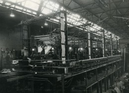URSS Moscou Fabrication Du Journal La Pravda Imprimerie Ancienne Photo 1947 - Photographs