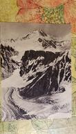 TAJIKISTAN -  Pamir Mountains - Ismoil Somoni Peak (Stalin Peak) Old Soviet Postcard 1956 Mountaineering Alpinisme - Tajikistan