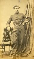 France Paris Militaire Soldat Uniforme Ancienne Photo CDV Pierre Petit 1870' - Antiche (ante 1900)