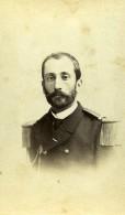 France Paris Militaire Officier Uniforme De Beaumont Ancienne Photo CDV 1872 - Photos