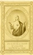 France Toulouse Image Pieuse Photographique Ancienne Photo CDV 1870' - Photographs