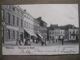 Cpa Willebroek Willebroeck - Place Louis De Naeyer - Edit. Thomas Baggerman - 1902 - Willebroek