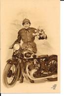 Motos - Moto - Sarolea - AB 209 - Photo Carte - Voir 2 Scans. - Motorbikes