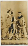 Real Photo Carnaval Pierrot  CP Cuba - Carnaval