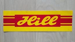 Aufkleber Für Die Supermarkt-Kette HILL (Deutschland; Nicht Mehr Existent) - Autocollants