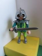 112 - Playmobil - Chevalier Dragon Vert - Playmobil