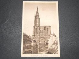 FRANCE - Carte Maximum De La Cathédrale De Strasbourg En 1939 - L 16161 - Maximum Cards