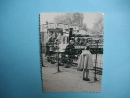 PHOTOGRAPHIE  PARIS  - 75 - La Foire Du Trône  - 1957 -  Attraction Paris LUNA  -  Locomotive  -   8,7 X 11,5   Cms - - Exhibitions