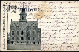 CP   Anderlecht   1901   ---   Hôtel De Ville  --  Publicité Innovation - Anderlecht