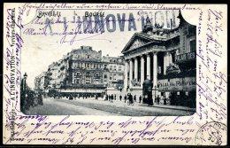 CP   Bruxelles   ---    La Bourse  --   1900 - Monuments, édifices