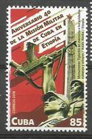 Cuba 2018 40th Anniv. Of Ethiope Military Mission 1v MNH - Etiopía