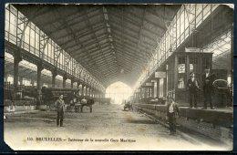 CP   Bruxelles   ---   Intérieur Nouvelle Gare Maritime - Maritiem